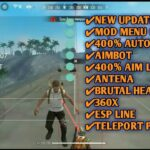 UPDATE MOD MENU FREE FIRE TERBARU 2020 CHEAT AUTO HEADSHOT