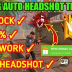 FREE FIRE 👽 how to download file Auto headshot file Auto