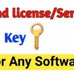find license key for any software how to get license key for
