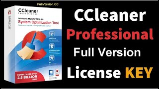 CCleaner pro Crack With License Key and Full Version Serial