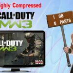 Download Call of Duty : MW3 PC Game Highly Compressed In Parts