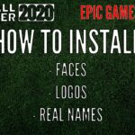 EPIC GAMES – Football Manager 2020 – How to Download Faces,