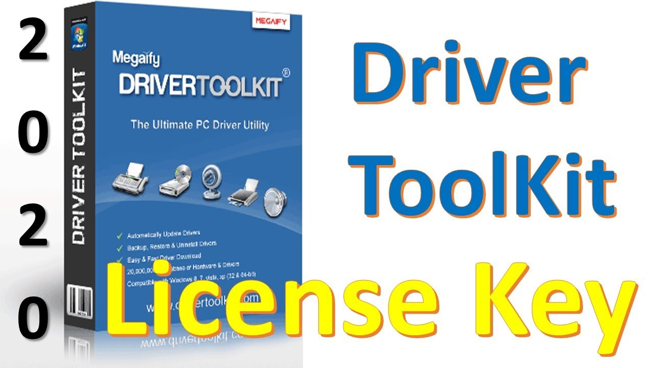Driver Toolkit Latest Version With License Key 2020 I Update